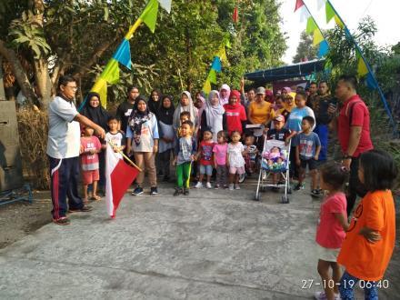 JALAN SEHAT PERINGATAN SUMPAH PEMUDA RT 02 PEDUKUHAN BARONGAN